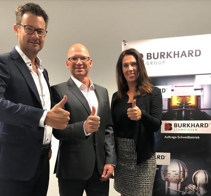 Burkhard setzt auf Verstärkung